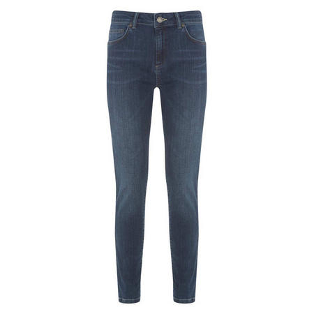 Houston Dark Indigo Relaxed Skinny Jean Blue