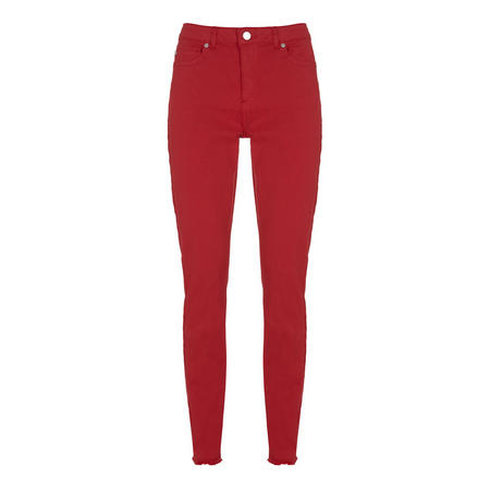 Red Paxton Skinny Jean Red