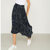 Summers Print Midi Skirt Multicolour
