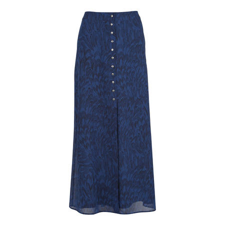 Hope Print Maxi Skirt