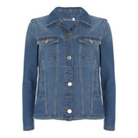 Indigo Denim Western Jacket Blue