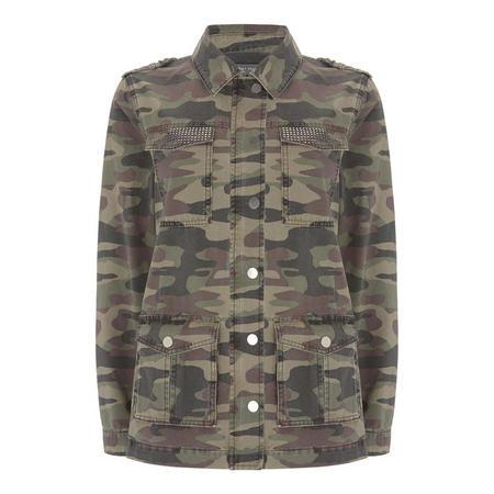 Camouflage Jacket Green