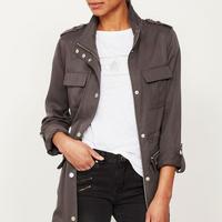 Ash Grey Utility Jacket Grey