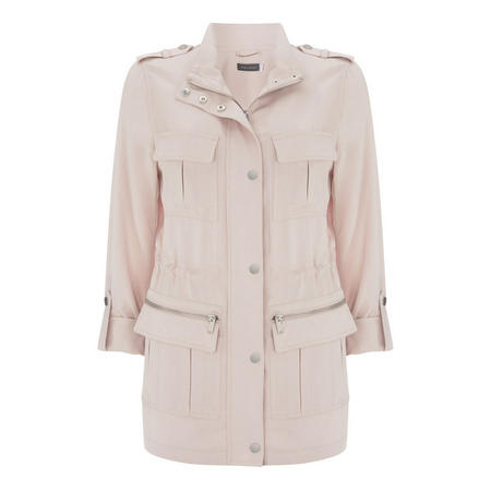 Petal Utility Jacket Pink
