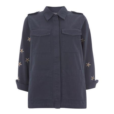 Indigo Star 4-Pocket Jacket Blue