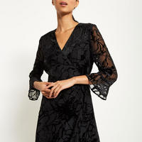 Ellie Devore Wrap Dress