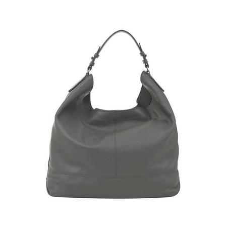 Hayley Grey Stud Shoulder Bag Grey