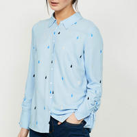 Teardrop Embroidered Shirt Multicolour