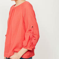 Watermelon Bow Sleeve Top Pink
