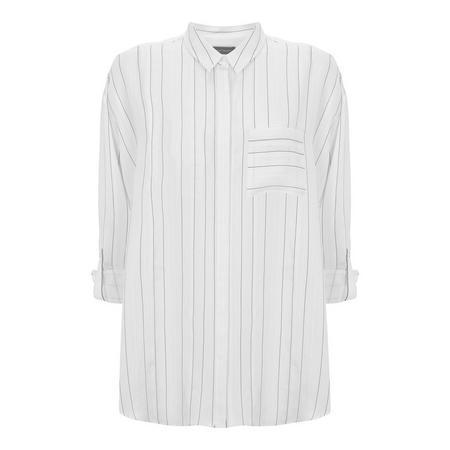 Ivory Stripe Shirt Multicolour