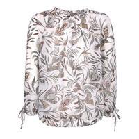 Bella Floral Print Boho Top