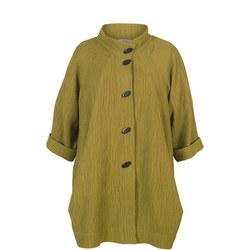 Textured Jacquard Coat