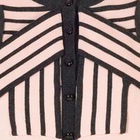 Stripe Bow Trim Jumper