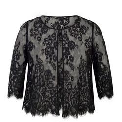 Scallop Trim Lace Jacket