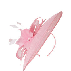 Sinamay & Feather Saucer Hatinator