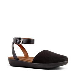 Cova Sandal Suede Black