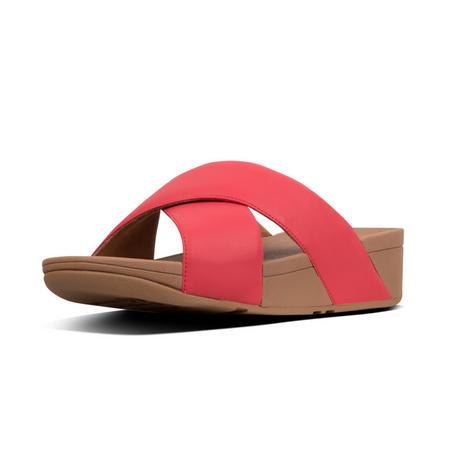 Lulu Slide-Leather