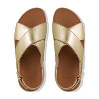 Lulu Mirror Sandal  Gold
