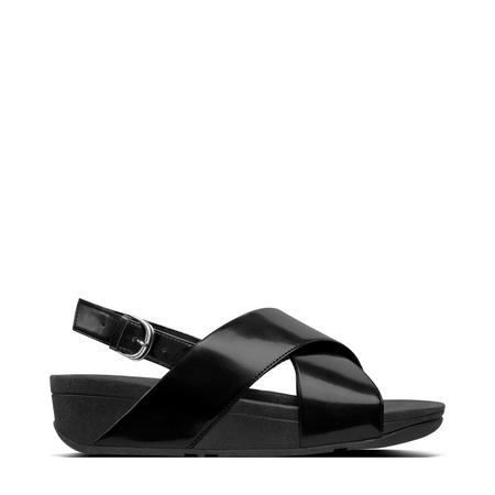 Lulu Mirror Sandal  Black