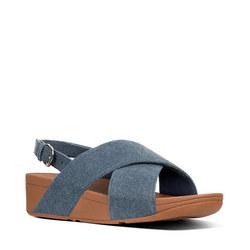 Lulu Denim Sandal Blue