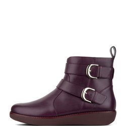 Laila Double Buckle Ankle Boot