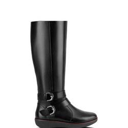 Noemi Double Buckle Calf Boot