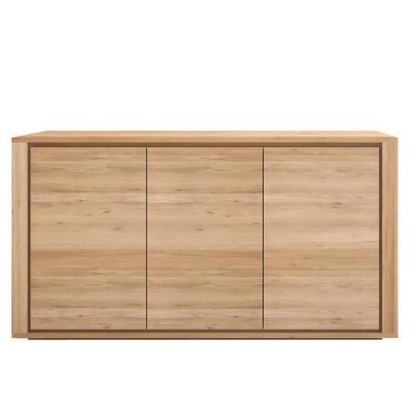 Shadow 51371 3 Door Sideboard Oak