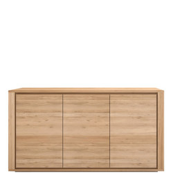 Shadow 51371 3 Door Sideboard Oak