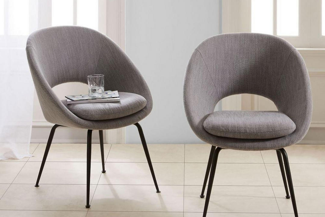 Orb Dining Chair, Grey