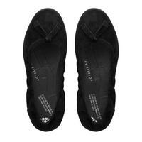 F-Pop™ Ballerina Suede Shoe Black