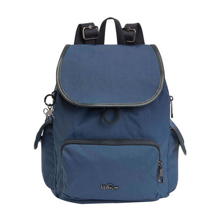 City Pack S Small Backpack Satin Blue C
