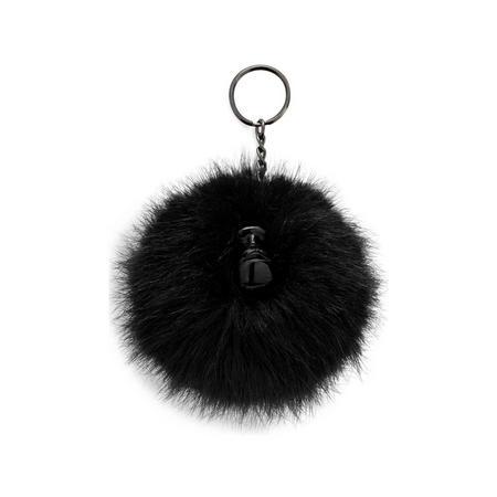 Pompom Monkey E Furry Pompon True Black