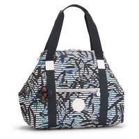 Art M Travel Tote Bamboo Stripes