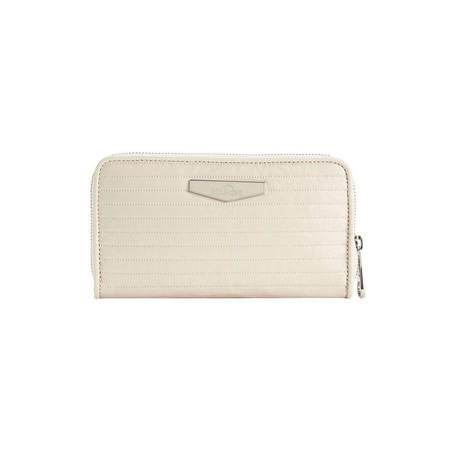 Nimmi Large Wallet Shiny White