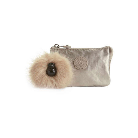 Creativity S Small Purse Silver Beige
