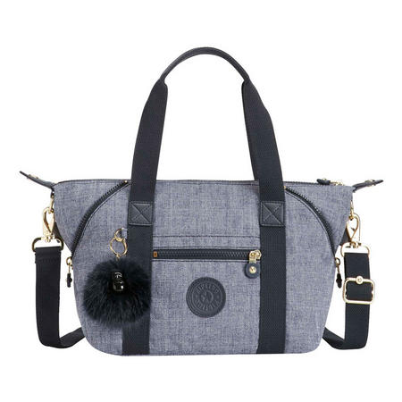 Art Mini Handbag Cotton Jeans