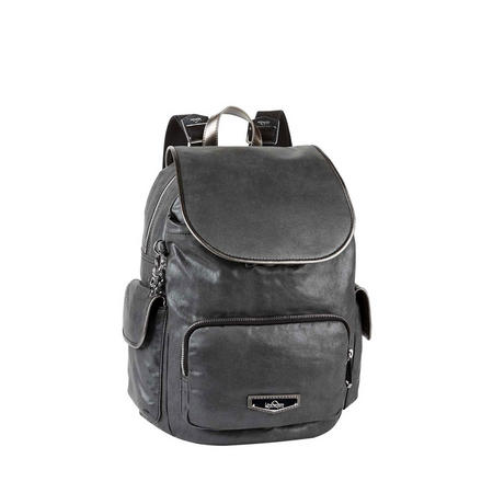 77a816468b City Pack S Night Metal Small Backpack Metallic