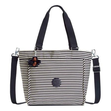 New Shopper S Small Shoulderbag Marine Stripy