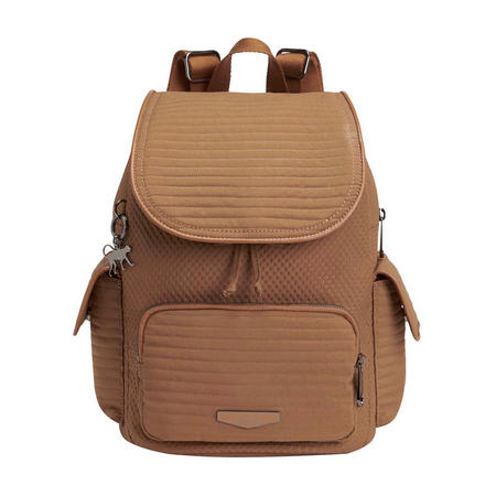 City Pack S Small Backpack Warm Camel