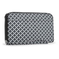 Alia Large Wallet Retro Geo Black