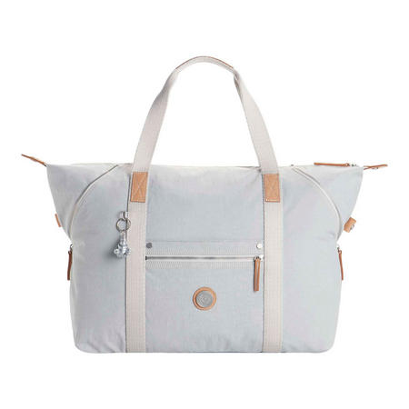 Art M Travel Tote Aged White Bl