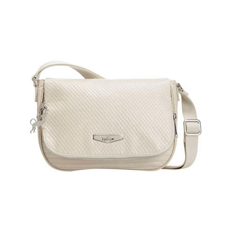 Earthbeat S Small Shoulderbag Shiny White