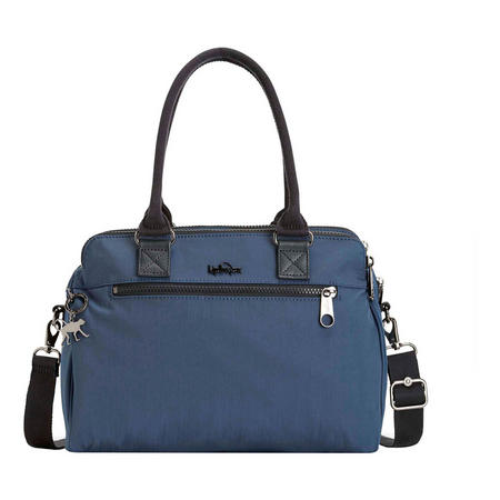 Sunbeam Handbag Satin Blue C