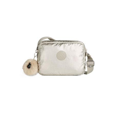 Silen Small Shoulderbag Silver Beige