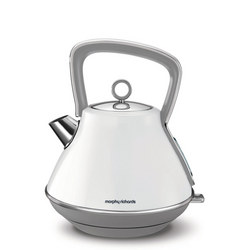 Evoke Pyramid Kettle White
