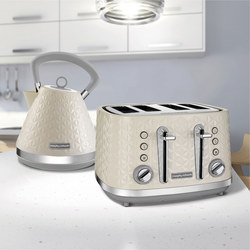 Vector Trad Kettle And 4 Slice Toaster Set