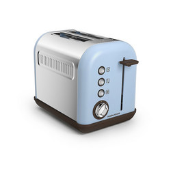 Accents Azure 2 Slice Toaster