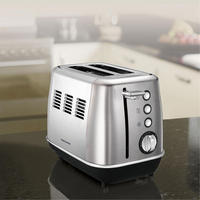 Evoke 2 Slice Toaster Brushed Steel