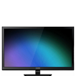 "24"" Built in DVD Player TV Black"