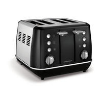 Evoke 4 Slice Toaster Black